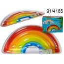 Materasso per il nuoto - arcobaleno