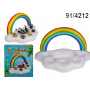 Inflatable rainbow XL drink stand