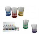 Farbige Gläser - 30 Stück