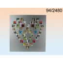 grossiste Fournitures de bureau equipement magasin: Cadre Coeur XXL - coin endommagé