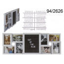 wholesale Pictures & Frames: Frame for 8 photos with an XL memo board