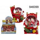 Großhandel Schneekugeln: St. Schneeball Weihnachten. Claus im Stuhl