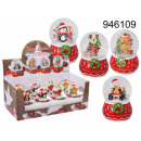 wholesale Snow Globes: Christmas snowball Merry Christmas with a stand