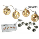 wholesale Light Garlands:Girlanda LED baubles