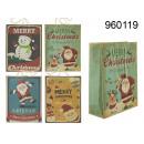 grossiste Emballage cadeau:Noël Sac Vintage