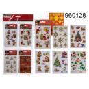 De stickers van Kerstmis