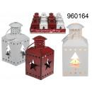 wholesale Wind Lights & Lanterns:Metal lantern in winter