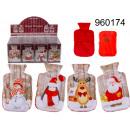 Kerst handverwarmer in een materiële behuizing