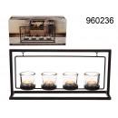 Stojak dekoracyjny na tealighty - 40 cm XL