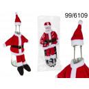 Pokrowiec na butelkę Święty Mikołaj