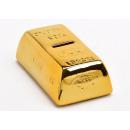 mayorista Caja fuerte: Barra de oro de cerámica de la hucha