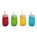 wholesale Houshold & Kitchen:Cup jar with a straw