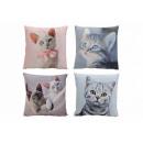 groothandel Kussens & Dekbedden: Kussen decoratieve katten