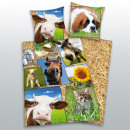 groothandel Home & Living: Young collectie:  Farm Animals Bedtextiel