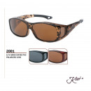 2001 Kost Polarized Fit Over - Sonnenbrille