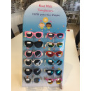 Großhandel Fashion & Accessoires: Karton Kinder  Sonnenbrille in Display (12 Paare mi