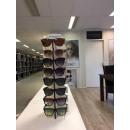 wholesale Business Equipment: Wood display (without glasses) stand 8 pairs (With