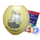 Veel 10 latex ballonnen Just Married 40cm mix eind