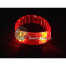 bright red LED flat strap