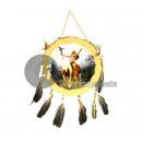 wholesale Music Instruments: Indian drum with feathers