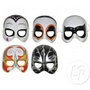 Halbschale Maske Superhelden-Mix