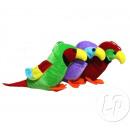 plush parrot 16cm mix