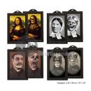 wholesale Pictures & Frames: Holographic Horror Scene 38x26cm mix