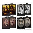 wholesale Pictures & Frames: Holographic Horror Scene 48x36cm mix