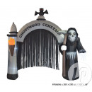 entrada cementerio inflable 2,5m 6 leds