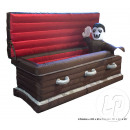 vampiro en inflable ataúd 3 leds 2m