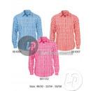 grossiste Chemises et chemisiers: chemise à carreaux bleu taille m-l