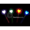 glowstick op de lente hart