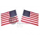 usa flag for car 30x45cm