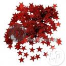 groothandel Kindermeubilair: 6mm rode tafel confetti sterren