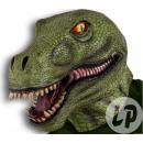hurtownia Zabawki:maska lateksowa t-rex