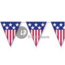 Großhandel Partyartikel: Girlande mit den Vereinigten Staaten Wimpel 10m ...