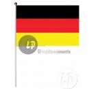 Germania bandiera con bastone 30x45cm