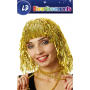 wig gold paper strips