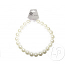 Großhandel Zubehör & Ersatzteile: Perlenkette aus weißem Kunststoff