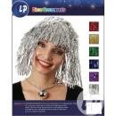 wig pink fuchsia paper strips