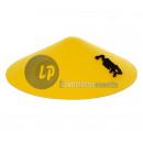 groothandel Klederdracht: gele chinese hoed met patroon