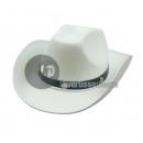 grossiste Vetement et accessoires: chapeau cowboy feutrine blanc