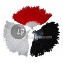 wholesale Costume Fashion:feather fan white