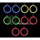 groothandel Oorbellen: paar neon oorbellen creoolse
