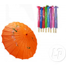 wholesale Costume Fashion: umbrella fabric diameter 82cm orange