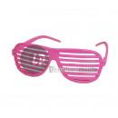 gafas de neón fucsia sombra rosa neón