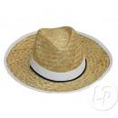 Granby Hut Stirnband und weißen Rand Stroh