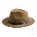 Panamahut braune Stirnband mit Schleife