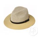 Panamahut mit Stirnband mit Schleife