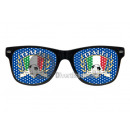wholesale Drinking Glasses: glasses grille italy (blue)